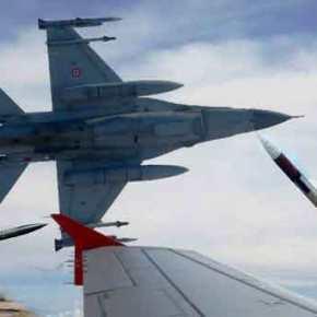 Τουρκικά F-16 πέταξαν πάνω από τηνΚίναρο