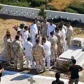 ΘΑ ΚΛΑΨΕΤΕ! ΡΙΓΟΣ…. Ανατριχιαστικό αντίο των ΟΥΚ πάνω από τον τάφο του νεκρού βατραχανθρώπου(βίντεο)
