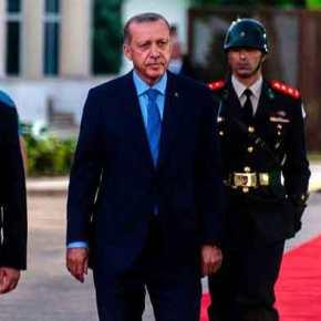 Ερντογάν: Δεν χρειαζόμαστε άδεια από κανέναν για την Κατοχή στην Κύπρο.