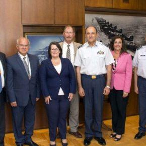 Επίσκεψη αντιπροσωπείας της Lockheed Martin για Ανασκόπηση του προγράμματοςF-16V