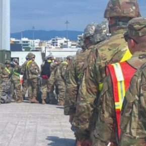 Ολοκληρώνεται η «απόβαση» Αμερικανών στο λιμάνι τηςΑλεξανδρούπολης