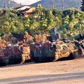 ΕΚΤΑΚΤΟ: Ελληνικές στρατιωτικές δυνάμεις μεταφέρονται στα νησιά του Αιγαίου – Ιερέας ευλογεί όπλα & στρατιώτες(φωτό)