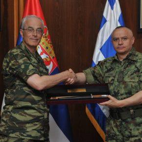 ΓΕΣ: Την Σερβία επισκέφτηκε ο Αντιστράτηγος Γεώργιος Καμπάς –ΦΩΤΟ