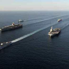 Στο σημείο μηδέν η αναμέτρηση στην Α. Μεσόγειο: «Θα σπεύσουν πλοία ξένων χωρών στηπεριοχή»