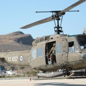 Πήρε αμπάριζα τα νησιά με «Ε/Π UH-1H» ο ΣτρατηγόςΚαμπάς!