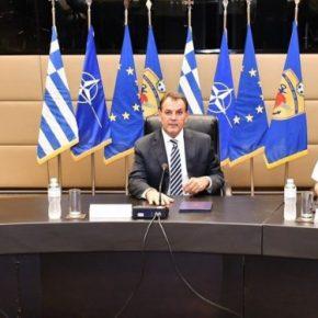 ΓΕΕΘΑ: Πραγματοποιήθηκε σύσκεψη του συνόλου της στρατιωτικής ηγεσίας των Ενόπλων Δυνάμεων[pic]