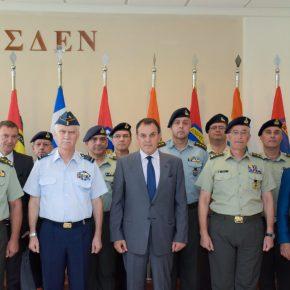 ΥΕΘΑ: Την ΑΣΔΕΝ επισκέφτηκε ο Υπουργός συνοδεία τωναρχηγών