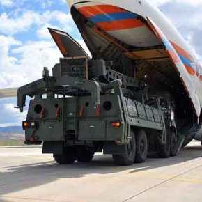 Nέο φορτίο των ρωσικών S-400 έφτασε στηνΤουρκία