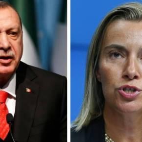 Ερντογάν: «Κανείς δεν μπορεί να μας εμποδίσει» – Μογκερίνι: «Σταματήστε τώρα, θα υπάρξουνσυνέπειες»