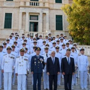 Μόλις 22 οι νέοι Μάχιμοι Σημαιοφόροι του ΠολεμικούΝαυτικού