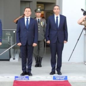 O ΥΕΘΑ Ν. Παναγιωτόπουλος επισκέφθηκε την Κύπρο.Φωτογραφίες.