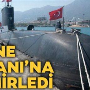 Κατεχόμενα: Το υποβρύχιο Gür S-357 «έδεσε» στην Κερύνεια – Ποια η αποστολήτου