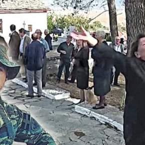 Η μητέρα του Κατσίφα πήρε στο κυνήγι Αλβανούς δημοσιογράφους: Επεισόδιο στο 9μηνο μνημόσυνο – Τους έδιωξε από τονεκροταφείο