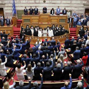 Ορκίστηκε η νέα Βουλή, οι παρουσίες και οι δηλώσεις[φωτογραφίες]