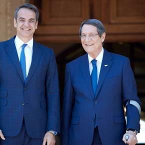 Μητσοτάκης: Η Κύπρος θα έχει τη συμπαράσταση της Ελλάδας στις τουρκικέςπροκλήσεις