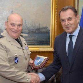 ΥΕΘΑ και Α/ΓΕΕΘΑ συναντήθηκαν με τον πρόεδρο της Στρατιωτικής επιτροπής του ΝΑΤΟ[pic]