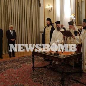 Ορκίστηκε η νέα κυβέρνηση στο Προεδρικό Μέγαρο – Την Τετάρτη το υπουργικόσυμβούλιο