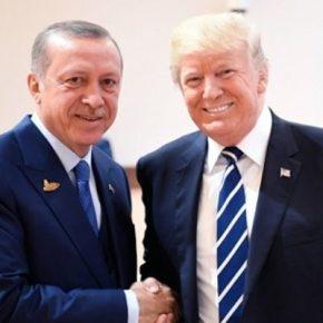 """Πίσω από την """"αγάπη"""" του Ντ. Τραμπ για τον Ερντογάν… ένα ολόκληροσκεπτικό"""