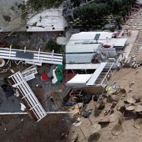 Η καταστροφή στη Χαλκιδική απόdrone