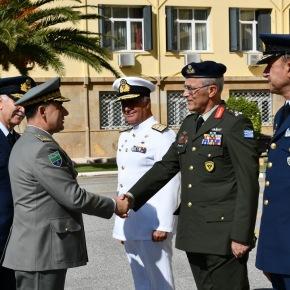 Επίσημη Επίσκεψη του Α/ΓΕΕΔ Αλβανίας στηνΕλλάδα