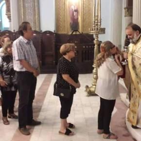 Δεκαπενταύγουστος στο Κάιρο: Η πρώτη Θεία Λειτουργία στον Ι.Ν Αγ. Κωνσταντίνου και Ελένης(pics)