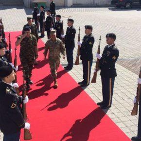 Γιατί ο ΑΓΕΣ επισκέφτηκε την Έδρα των Στρατιωτικών Δυνάμεων των ΗΠΑ στην Ευρώπη[pics]