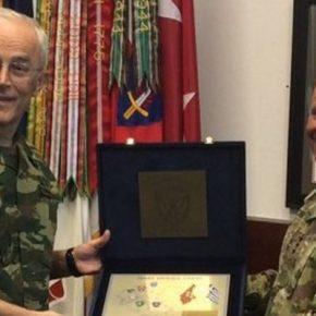 Επίσημη Επίσκεψη Αρχηγού ΓΕΣ στην Έδρα των Στρατιωτικών Δυνάμεων των ΗΠΑ στηνΕυρώπη