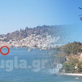 Ελικόπτερο κατέπεσε στον Πόρο – Νεκροί οι τρειςεπιβαίνοντες