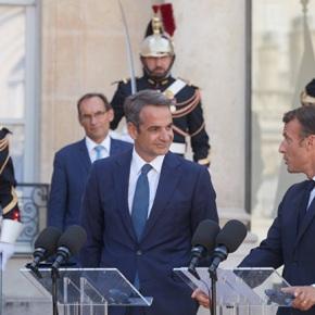 Μητσοτάκης: «Η Ευρώπη δεν θα αφήσει απροστάτευτη τηνΚύπρο»