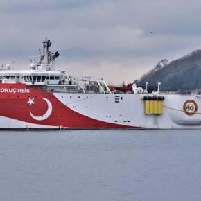Τουρκία: Εν πλω για την κυπριακή ΑΟΖ το τέταρτο πλοίο OrucReis