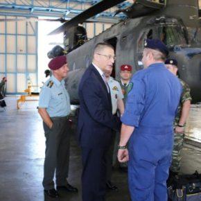 Επίσκεψη του ΥΦΕΘΑ Αλκιβιάδη Στεφανή σε Στρατιωτικές Μονάδες και Υπηρεσίες[pic]
