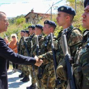 Στην Καστοριά ο Υφυπουργός Εθνικής Άμυνας, Αλκιβιάδης Στεφανής[pics]