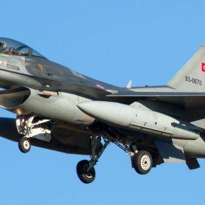 Συνεχίζουν να προκαλούν οι Τούρκοι με οπλισμένα F-16 στο Αιγαίο – Σημειώθηκαν 53 παραβιάσεις και 2εμπλοκές