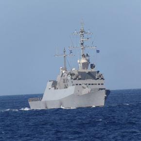 «Ετσι θα τυφλώσετε την τουρκική πολεμική μηχανή» – Yψωσαν ελληνικές σημαίες τα ισραηλινά πλοία- Σκιά του Iwo Jima o«ΠΑΠΑΝΙΚΟΛΗΣ»