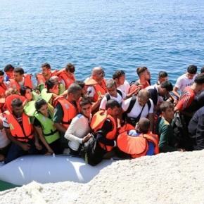 Προσφυγικό «τσουνάμι» στο βόρειοΑιγαίο