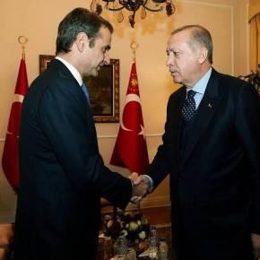 Συνάντηση Μητσοτάκη – Ερντογάν: «Κλείδωσε» το ραντεβού των δύοηγετών