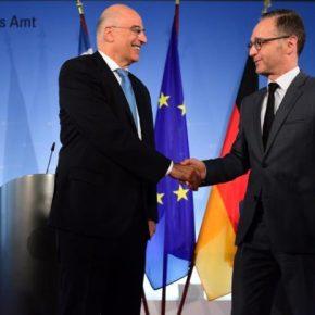 Ξεκάθαρη η θέση της Γερμανίας υπέρ της Κύπρου στο ζήτημα των γεωτρήσεων στην κυπριακή ΑΟΖ, δήλωσε ο ΥΠΕΞΜαας