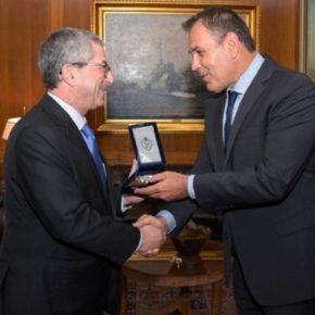Συνάντηση του ΥΕΘΑ, Ν.Παναγιωτόπουλου με τον διευθυντή Αμυντικής Πολιτικής τουΙσραήλ