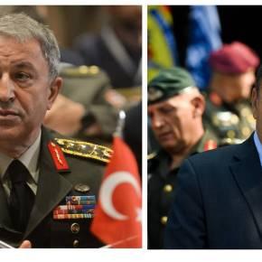 Τηλεφώνημα Ακάρ στον Παναγιωτόπουλο – Τι συζήτησαν οι δύο υπουργοίΆμυνας