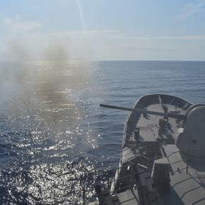«Πήραν φωτιά» τα κανόνια: Ελληνική αντεπίθεση & επέλαση του ΠΝ: Φρεγάτες & υποβρύχια σε απόλυτηετοιμότητα
