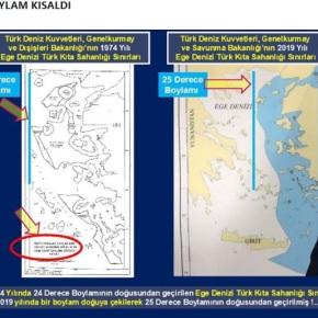 Τούρκος στρατιωτικός: Παραχωρήσαμε έκταση 85 χιλιομέτρων της «ΓαλάζιαςΠατρίδας»