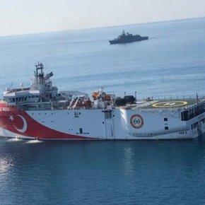 Ο κύβος ερρίφθη: Το Oruç Reis πάει… Καστελόριζο – Μεγάλη συγκέντρωση ελληνικών & τουρκικών ναυτικώνδυνάμεων