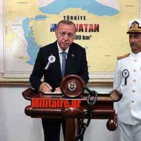 Το 'πε και το έκανε ο «Σουλτάνος»: Ανοιχτά του Καστελόριζου το ερευνητικό πλοίο Bilim2
