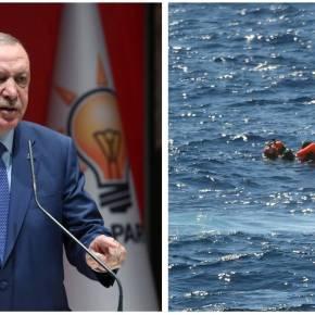 Σκληρή απάντηση της Ε.Ε. στους εκβιασμούς του Ερντογάν για τοπροσφυγικό