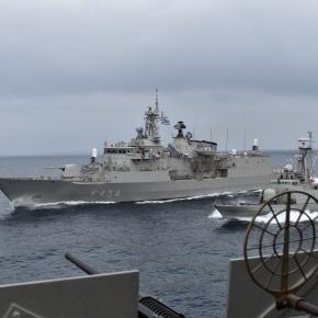 «Βράζει» η θάλασσα στο Καστελόριζο: Αντιμέτωπα ελληνικά με τουρκικά πολεμικά πλοία – Προκλήσεις της Άγκυρας με νατοϊκό«καπέλο»