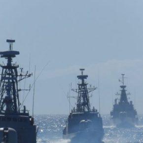 Συγκέντρωση ναυτικών δυνάμεων Ελλάδας και Τουρκίας μεταξύ Ρόδου και Καστελόριζου…