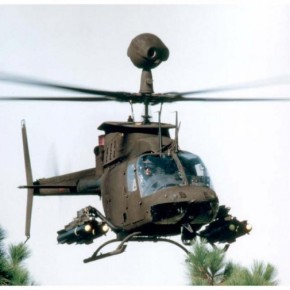 Ξενάγηση για πρώτη φορά στα ελικόπτερα Kiowa που παρέλαβε ο στρατόςμας