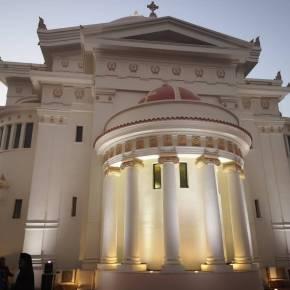 Ιστορικό γεγονός: Θυρανοίξια του Ιερού Ναού Κωνσταντίνου και Ελένης στοΚάιρο
