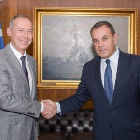 ΥΕΘΑ: Σημαντικό τετ-α-τετ Παναγιωτόπουλου με τον Ρώσοπρέσβη