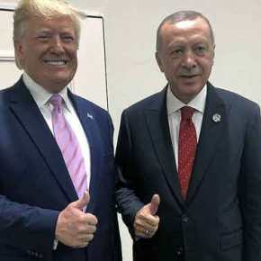 Ο Αμερικανός πρόεδρος απειλεί την Τουρκία με κυρώσεις, για πρώτη φορά μετά την εισβολή στηΣυρία